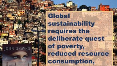 Maurice King on Global Sustainability