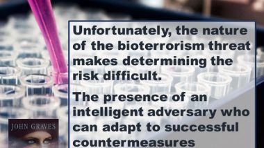Bioterrorism Threat