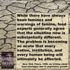 Famine and Population Growth