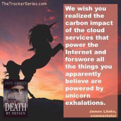 James Lileks on the Power of Unicorn Exhalations