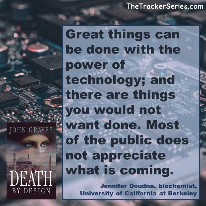 Jennifer Doudna on the power of technology