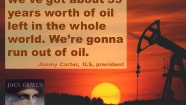 Jimmy Carter on Running Out of Oil