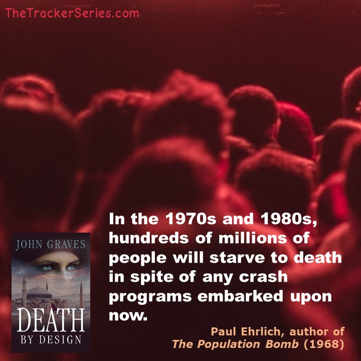 Paul Ehrlich on Hundreds of Millions Dying: In the 1970s and 1980s, hundreds of millions of people will starve to death in spite of any crash programs embarked upon now. — Paul Ehrlich, author of The Population Bomb (1968)