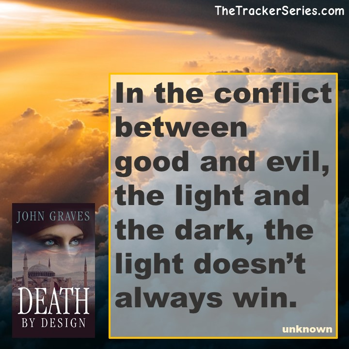 In the conflict between good and evil, the light and the dark, the light doesn't always win. — unknown #good #evil #light #dark